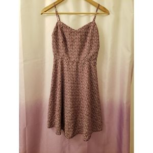 Old navy purple maroon a-line dress size small